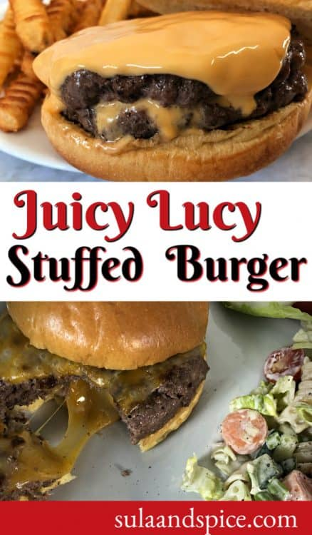 pin for juicy lucy burger