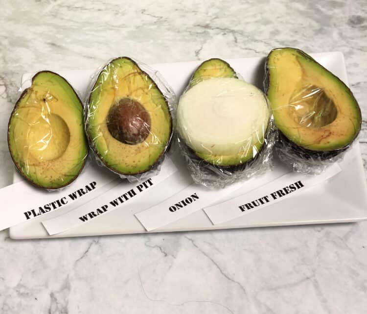 tips for keeping cut avocados green
