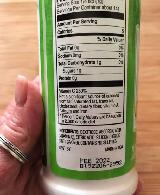 fruit fresh ingredients