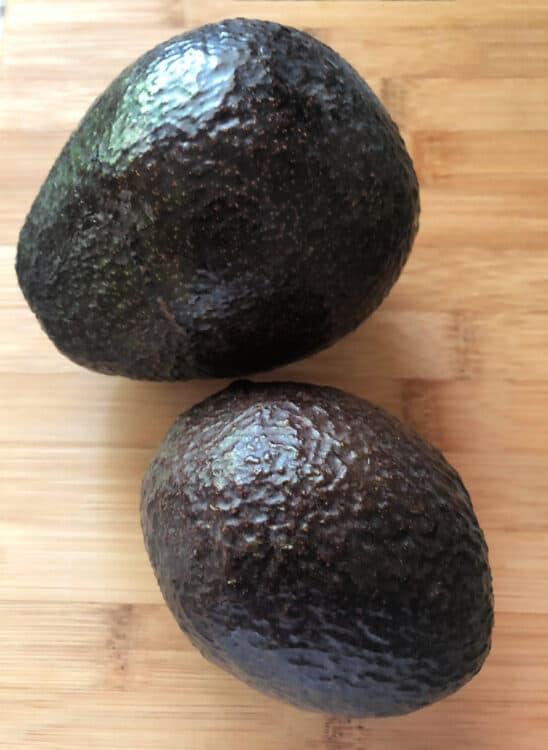 ripened avocados