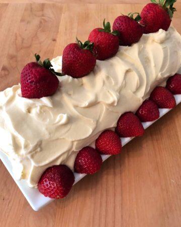 Strawberry Shortcake Roll