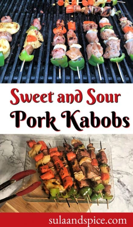 pin for sweet and sour pork kabob