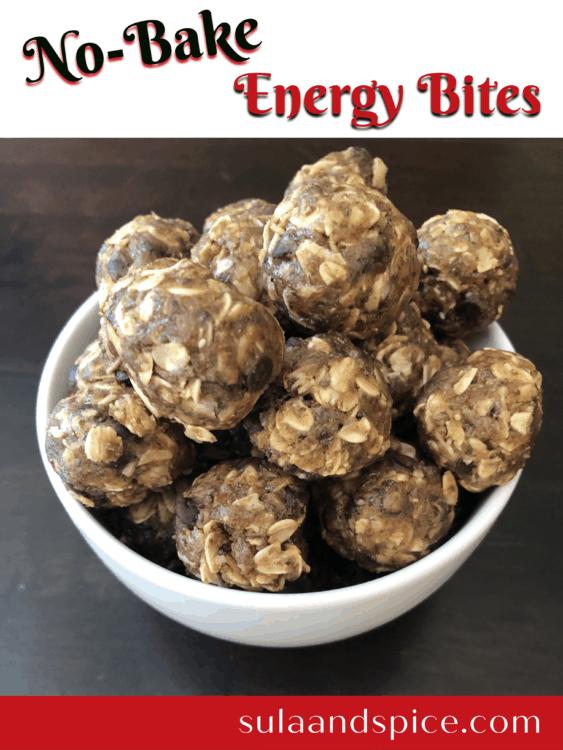 no bake energy bites