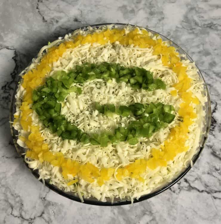 Packer Party Taco Dip