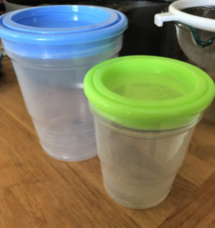 freezer safe jars