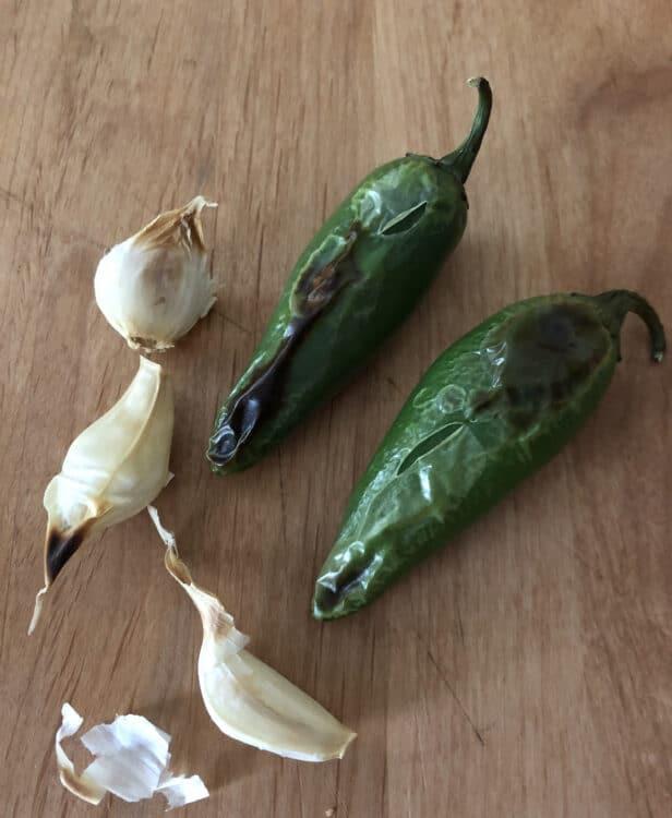 chilis and garlic