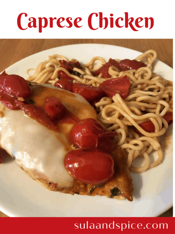 caprese chicken pin