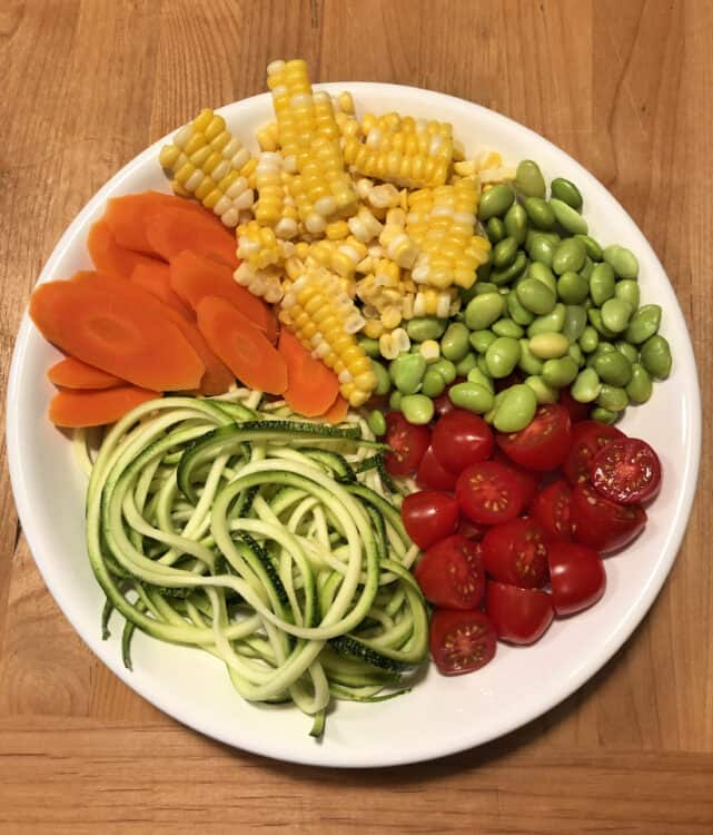 Zoodle bowl