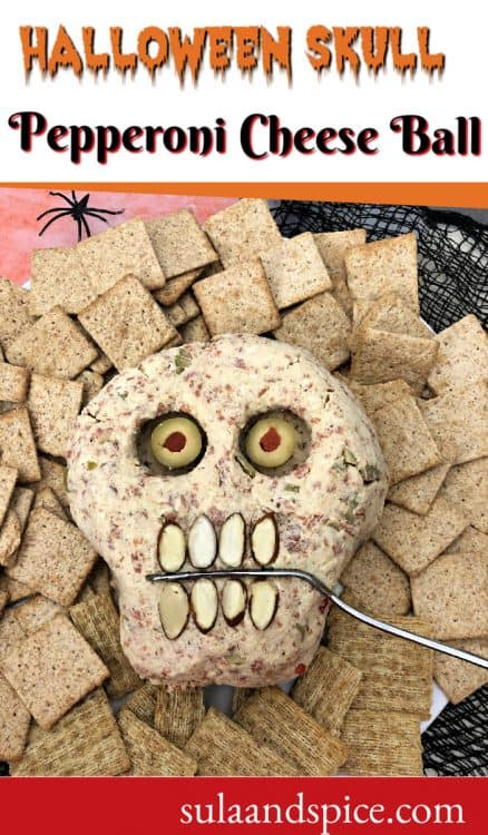 Pin for Halloween cheese ball