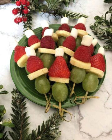 grinch holiday appetizer