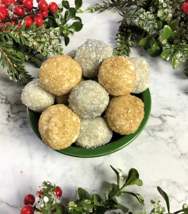 moscato truffles holiday appetizer
