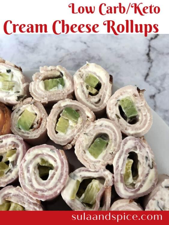 Keto Cream Cheese Roll-ups