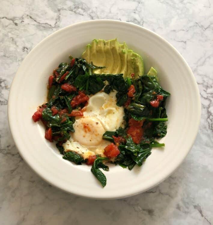 superfood breakfast eggs