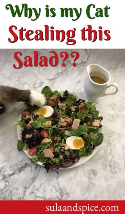 Walter stealing salad pin
