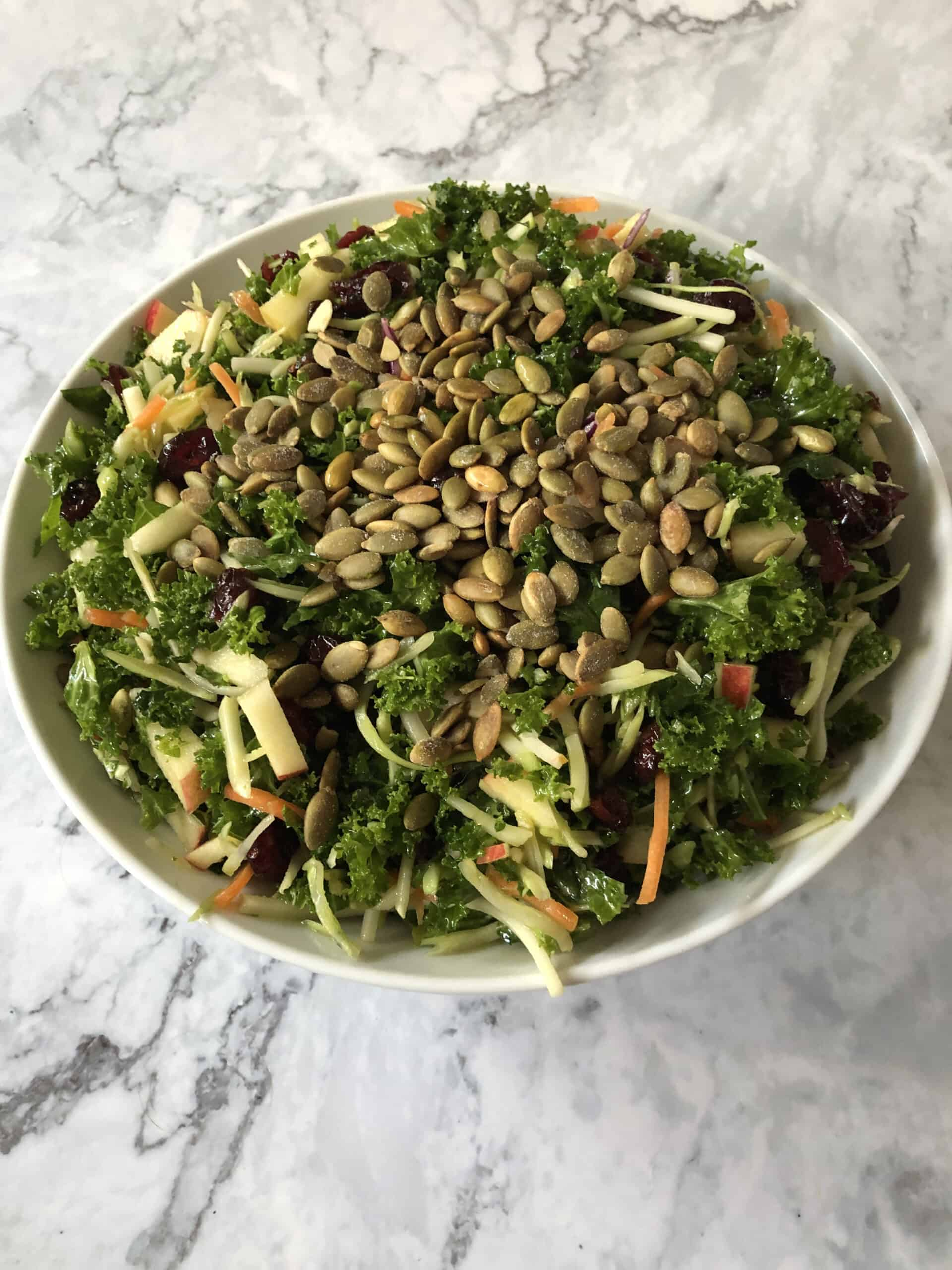 broccoli kale salad