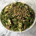 broccoli kale salad