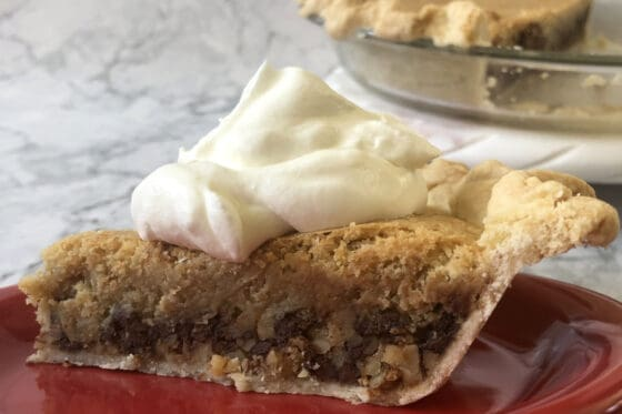 Derby Pie, Chocolate walnut pie