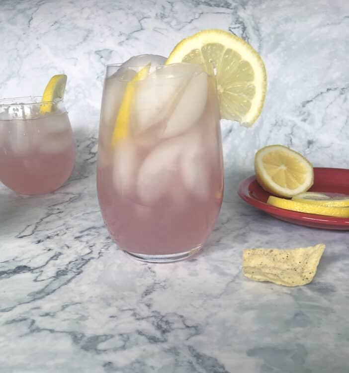 Pink senorita, pink lemonade margarita, seniorita