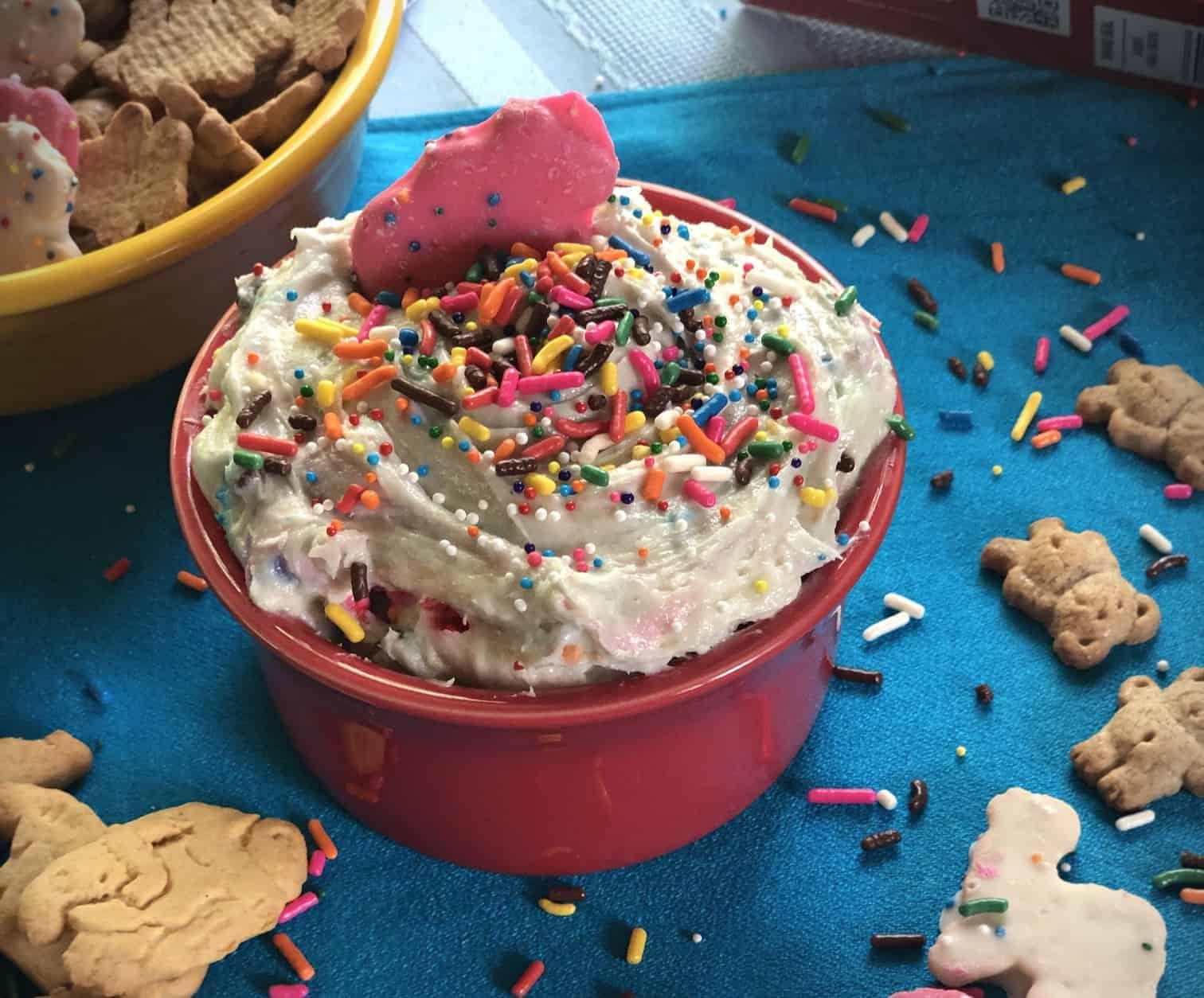 Dunkaroo Dip, Funfetti Cake batter dip