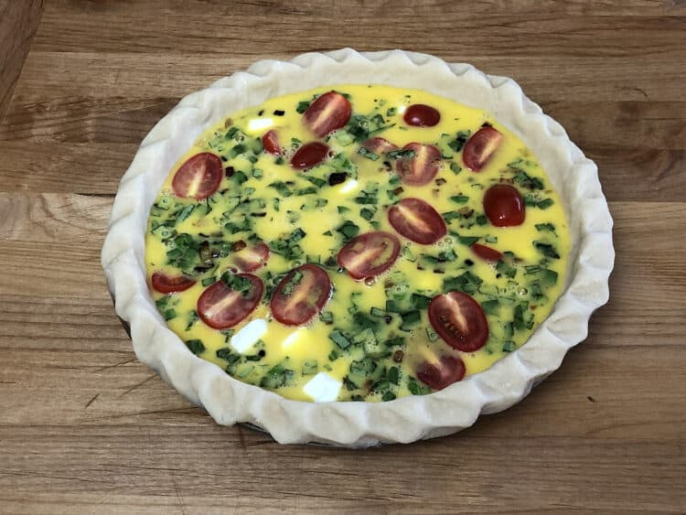 Quiche Ready to bake