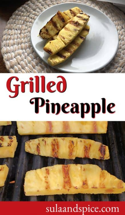 grilled pineapple pin