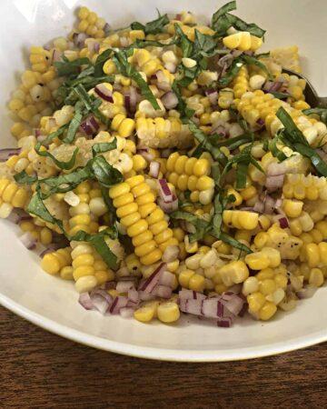 Ina Garten's Fesh Corn Salad