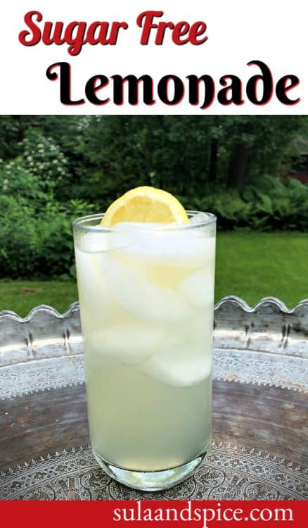 Sugar Free Lemonade Pin