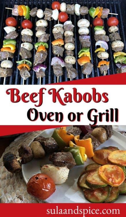 Beef kabobs Pin