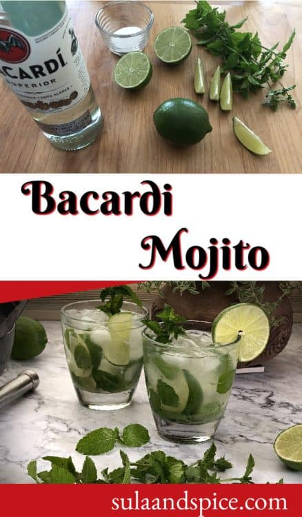 Pin for Bacardi mojito