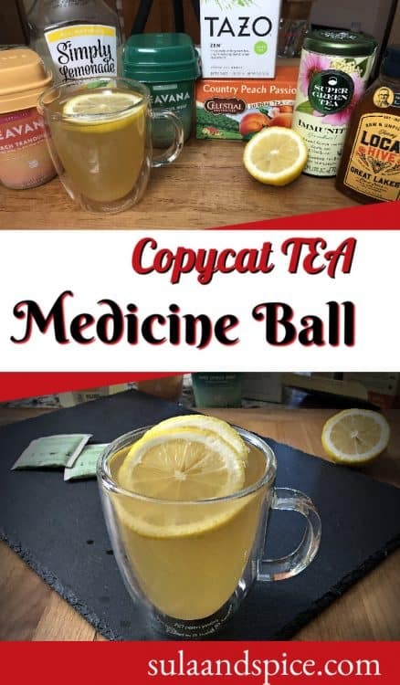 pin for starbucks copycat medicine ball tea