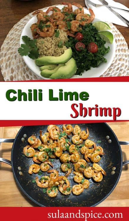 Chili Lime Shrimp Pin
