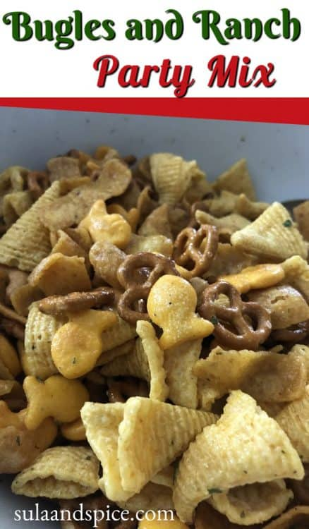 pin for ranch party mix with bugles