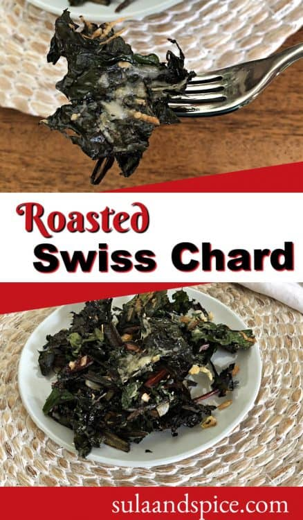 pin for roasted swiss chard