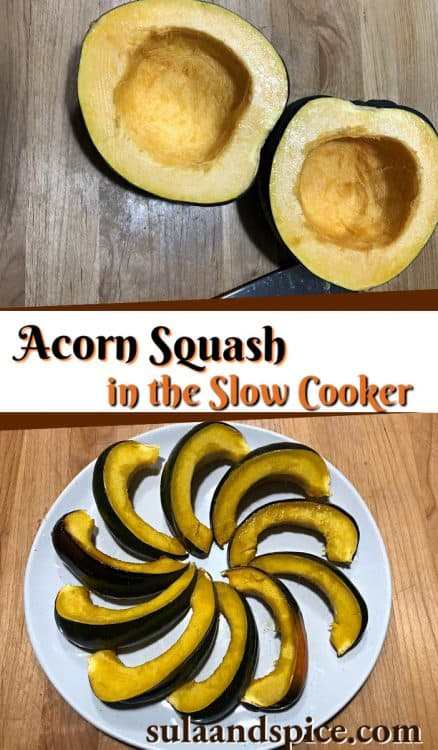 pin for slow cooker acorn squash