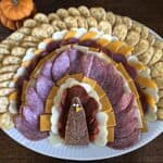 turkey meat and cheese tray