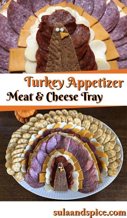 turkey appetizer platter pin