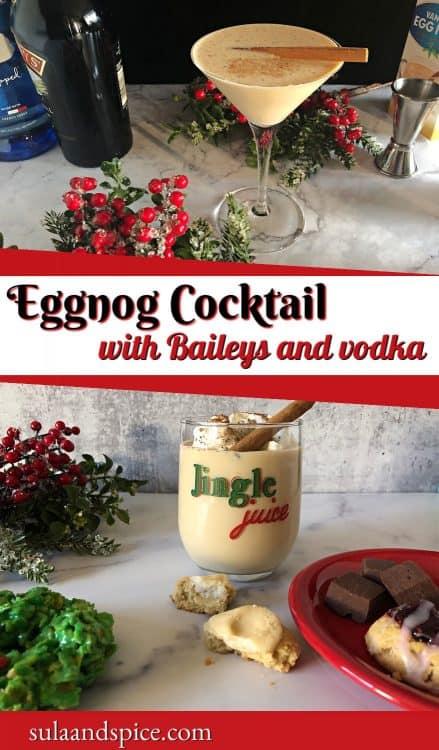 eggnog and baileys pin