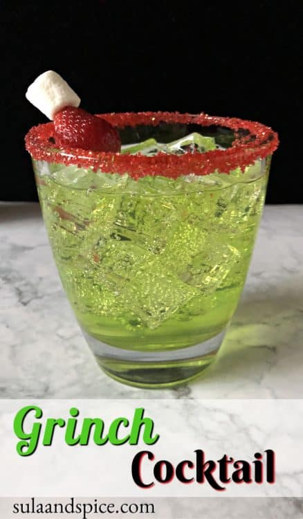 Pin for Grinch cocktail