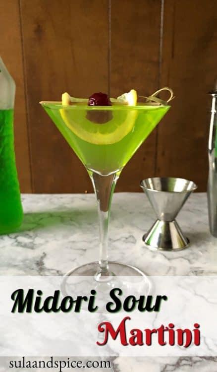 Pin for Midori Sour Martini