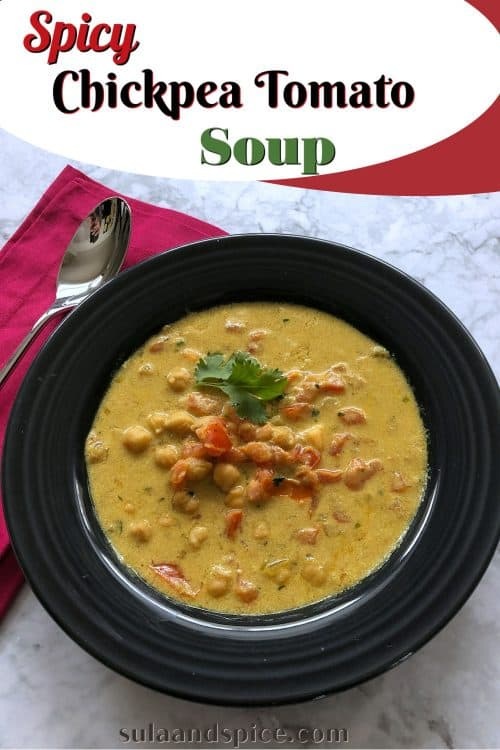 pin for chickpea tomato soup