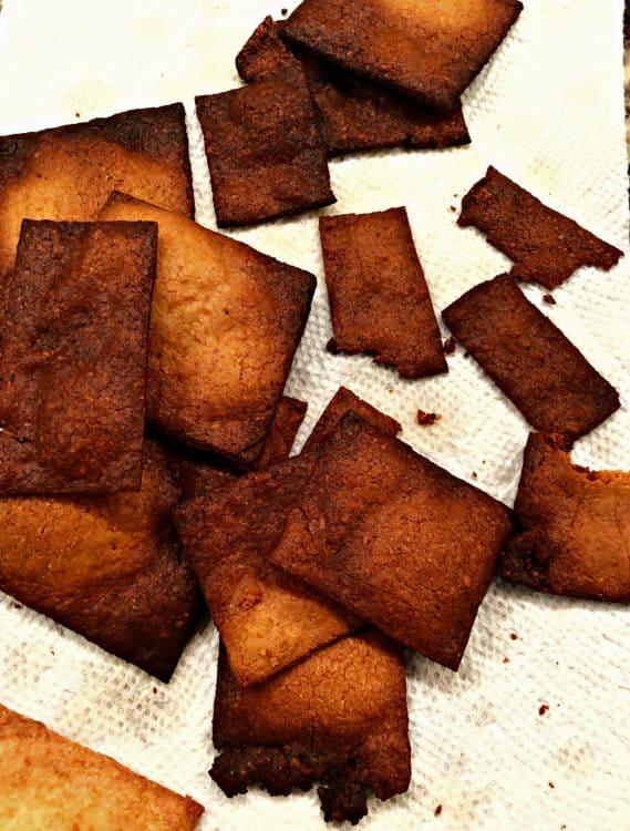 overcooked crackers
