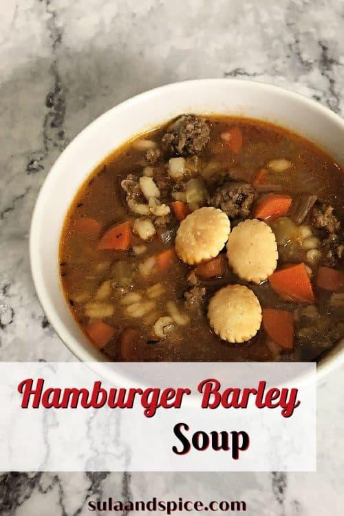pin for hamburger barley soup