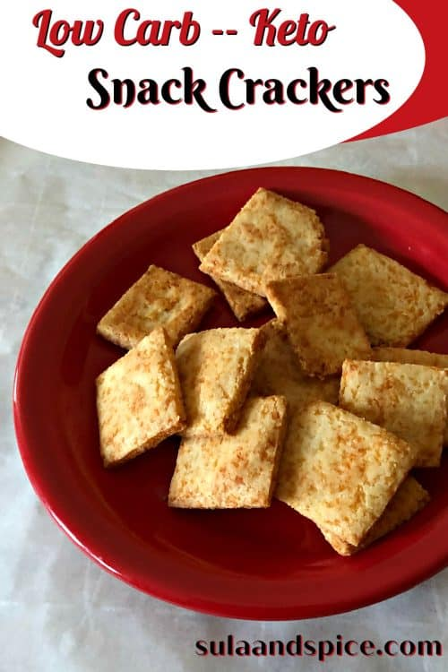keto snack crackers pin