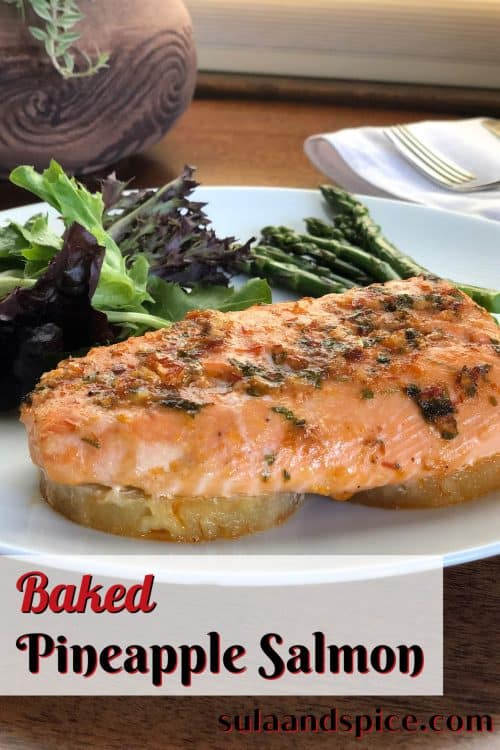 pin for pineapple salmon