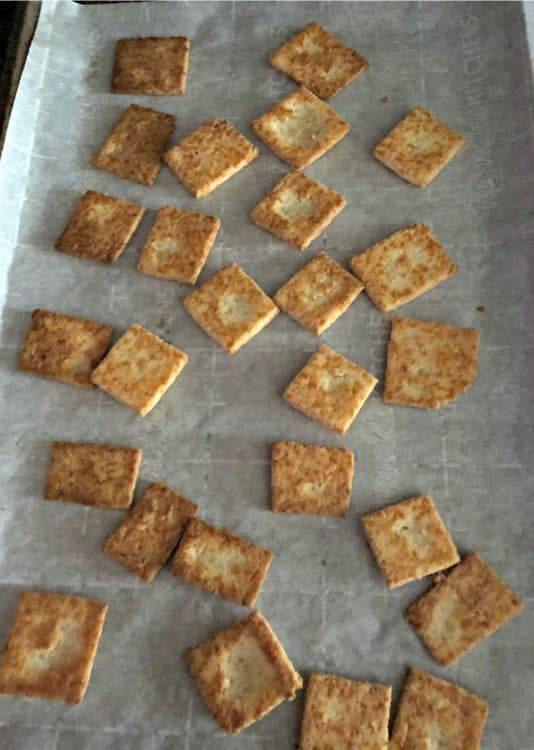almost baked keto snack crackers