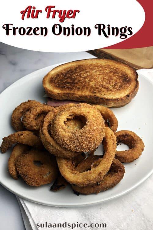 Air Fryer Onion Rings Pin