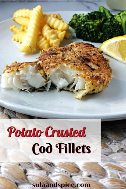 pin for potato crusted cod
