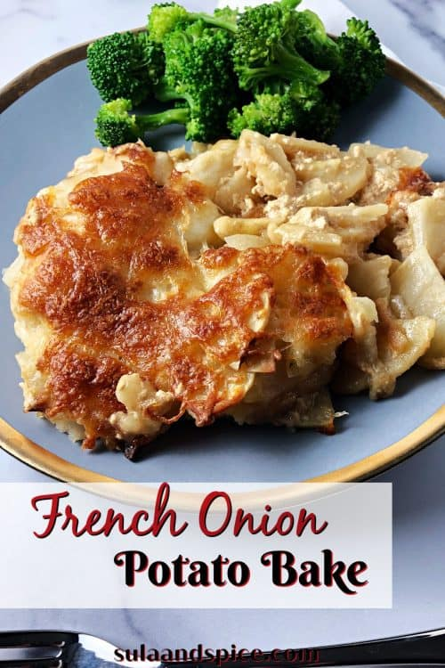 pin for French onion potato bake