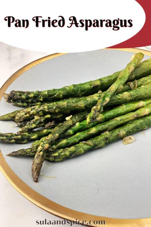 pan fried asparagus pin