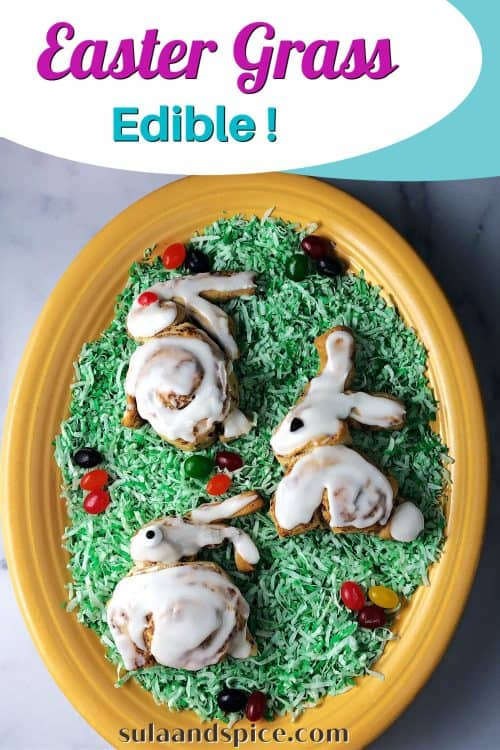 pin for edible easter grass